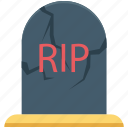 dreadful, halloween gravestone, halloween tombstone, headstone, tombstone icon