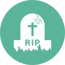 cross, dead, death, grave, halloween icon