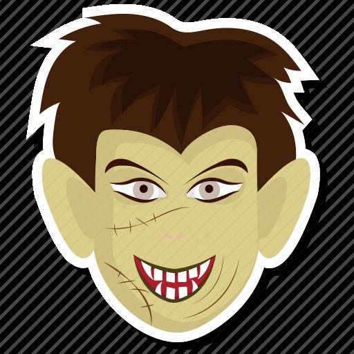 frankenstein, frankenstein's monster, halloween, horror, monster, undead, user icon
