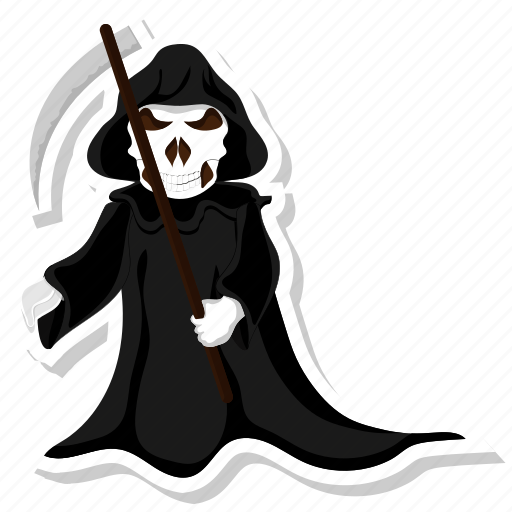 Grim, halloween, reaper icon - Download on Iconfinder