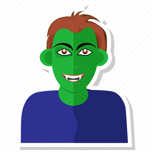 avatar, devil, dude, scary, vampire icon