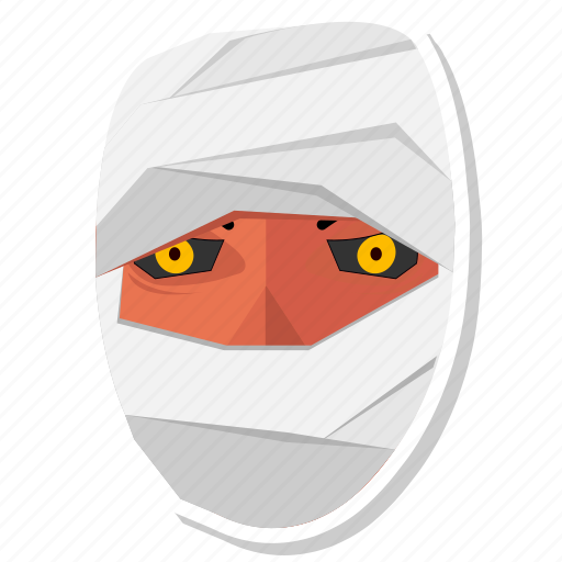 halloween, monster, mummy icon