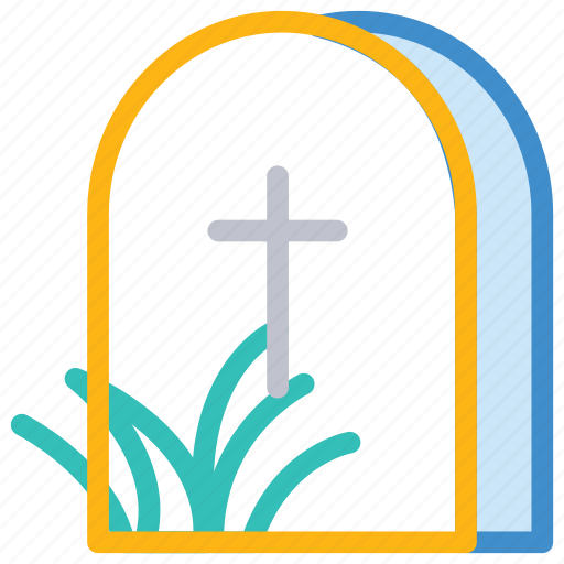 cemetery, grave, rip, tomb icon