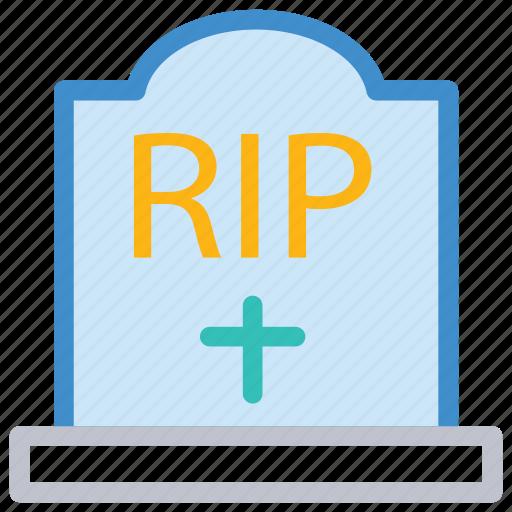cemetery, death, grave, rip icon