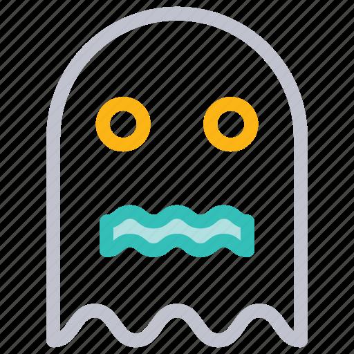 boo, ghost, halloween, horror icon