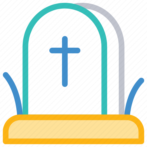 casket, cemetery, grave, tombstone icon
