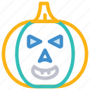 halloween, pumpkin, scary, spooky icon
