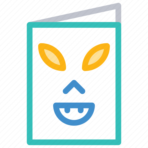 Card, clown, menu, spooky icon - Download on Iconfinder