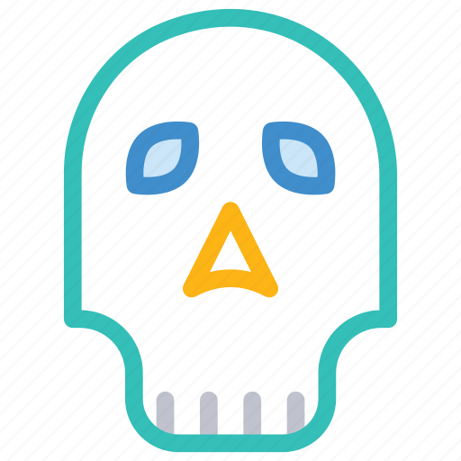 halloween, monster, scull, spooky icon