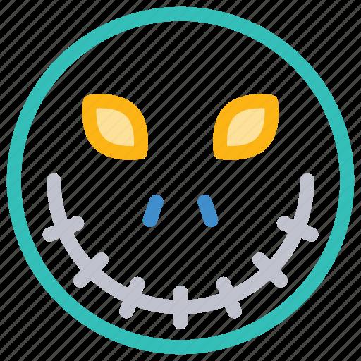 creepy, scary, spooky, zombie icon