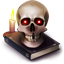 halloween, horror, skull icon