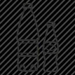 bottle, drink, soda, water icon