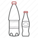 bottle, drink, soda, water icon