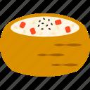 inari sushi, japanese food, rice, rice ball, snack, sushi, tofu icon