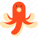 kids meal, lunch, octopus, side dish, snack, winener icon
