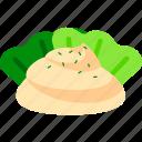 cream, potato salad, poteto, salad, side dish, snack icon
