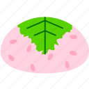 cherry clossom, japanese sweets, mochi, rice cake, sakura, sweets icon