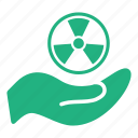 electricity, energy, hand, industry, nuclear, power