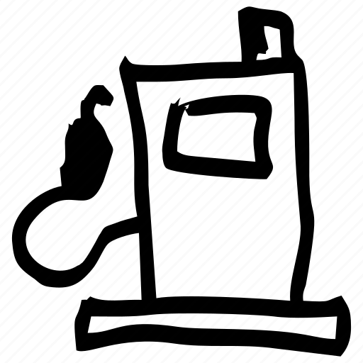 draft, fuel, hand drawn, handdrawn, power, sketch, station icon