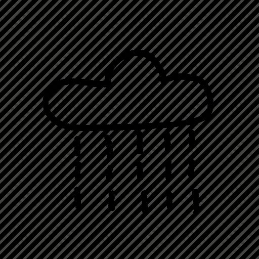 Rain Rainy Sky Universe Weather App Design Atmosphere Icon Download On Iconfinder