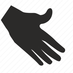 gesture, hand, hello, shake icon