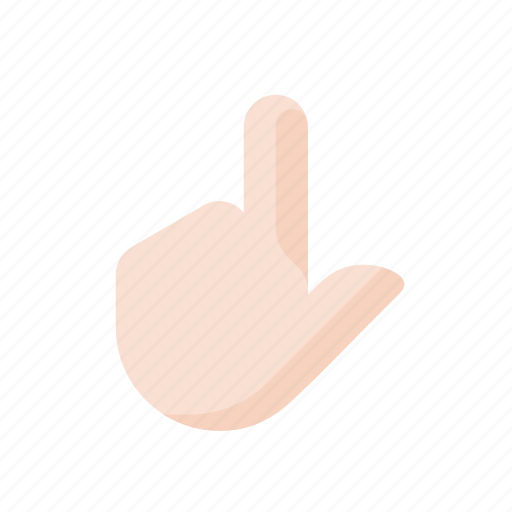 click, finger, gestures, hand, point, touch icon