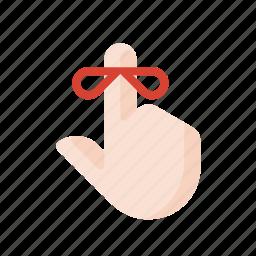 gestures, hand, reminder, touch icon