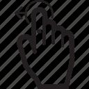 move, hand, drag, arrow, touch, left