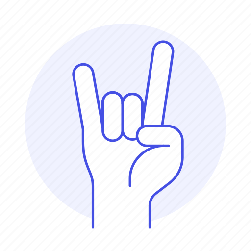 1, concert, excitement, front, gesture, gestures, hand, horns, love, metal, music, of, rock, sign, the, you icon