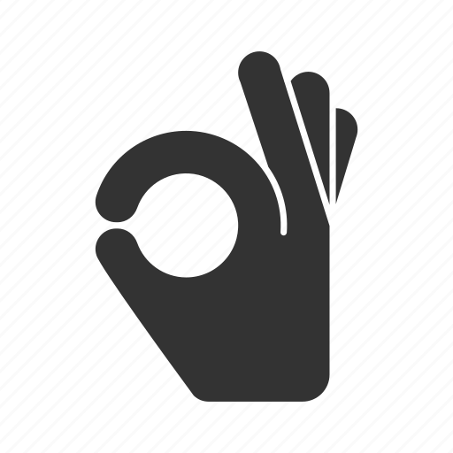 done, fingers, gesticulation, gesture, hand, ok, well icon