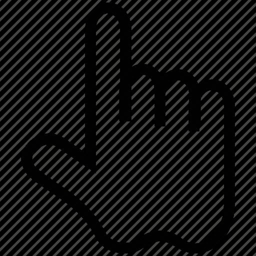 forefinger, index finger, number one, pointing finger, posture icon