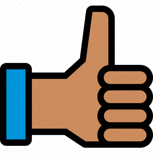 finger, gesture, good, hand, open, touch icon