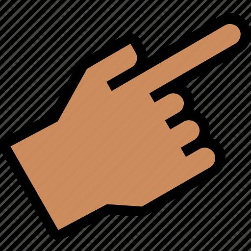 crisscross, fingers, gesture, hand, interaction, point, toward icon