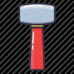 blow, gavel, hammer, helve hammer, tool icon