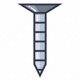 bolt, nail, nails, nut, screw, tool icon