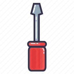 drivers, hand tool, screw, srewdrivers, tool icon