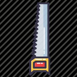 coping saw, hack saw, hand saw, saw, tool icon