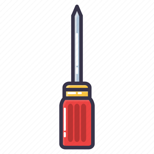 hand tool, screw, screwdrivers, tool icon