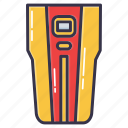 detector, finder, stud, stud finder, tool icon