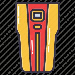 detector, finder, stud, stud finder, tool icon