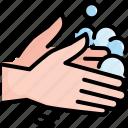 clean, hand, hygiene, prevention, soap, virus, washing