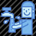 cleaning, hand, hand washing, people, washing, women