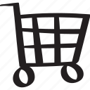 bag, cart, checkout, grocery, purchase, shopping, trolley icon