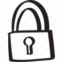 accesibility, confidential, lock, password, protected, secure, security icon