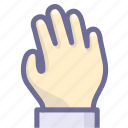 hand, take, touch icon
