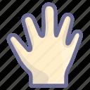 ban, block, bye, hand icon