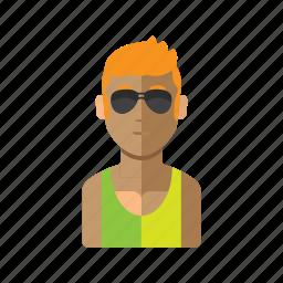 avatar, brazil, man, person, stock icon