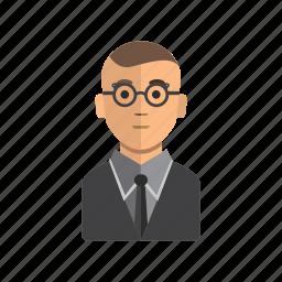 avatar, male, man, office, staff, user icon