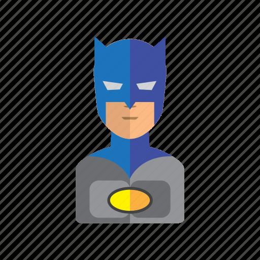 avatar, batman, hero, male, man, people icon