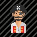 avatar, man, captain, jack, user